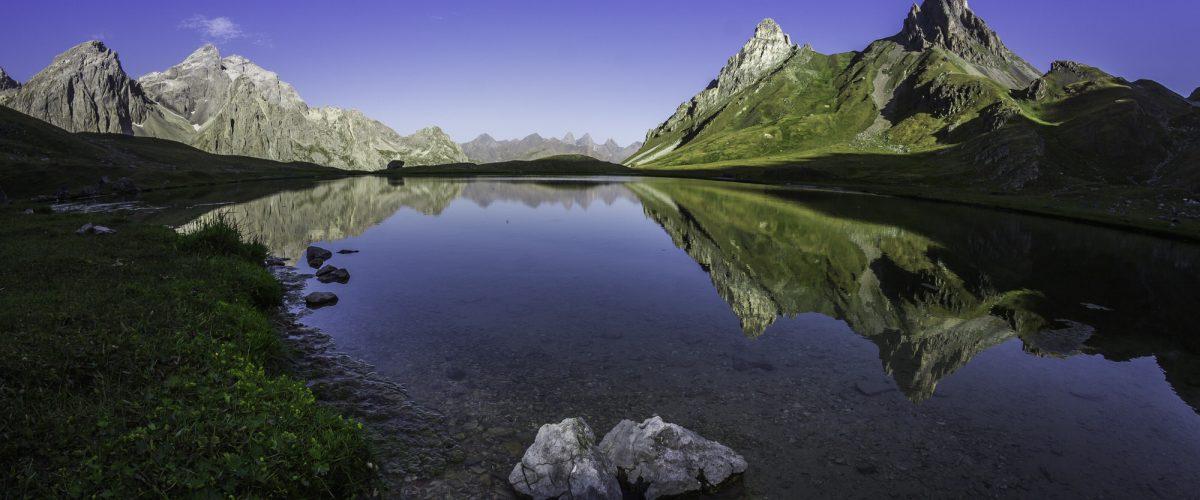Il lago dei Cerces