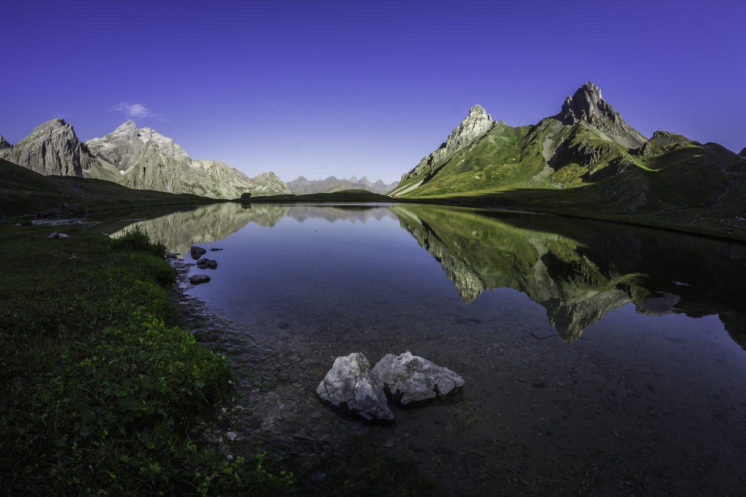 Le lac des Cerces valloire