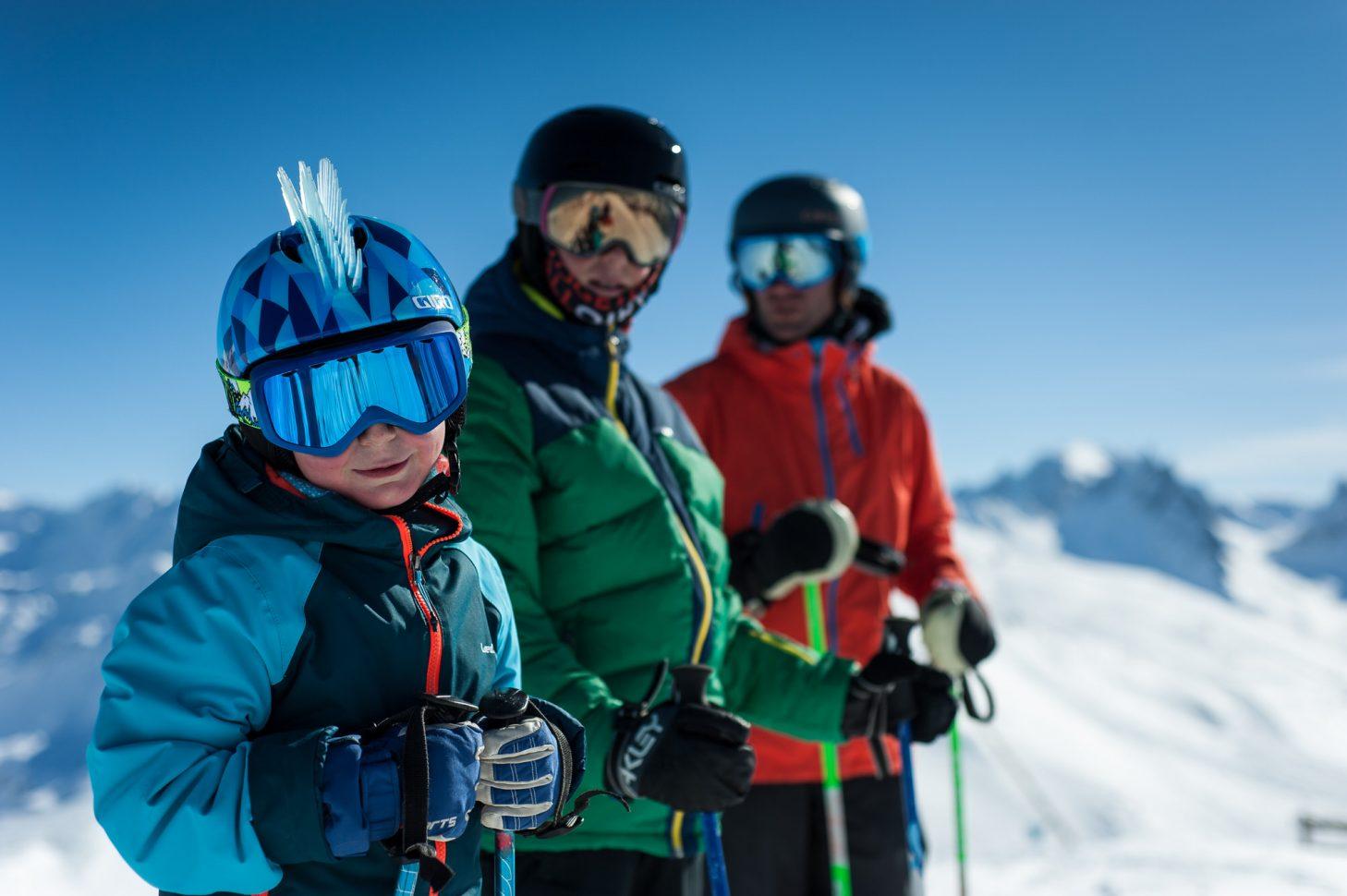 Ski en famille sur le domaine skiable de valloire