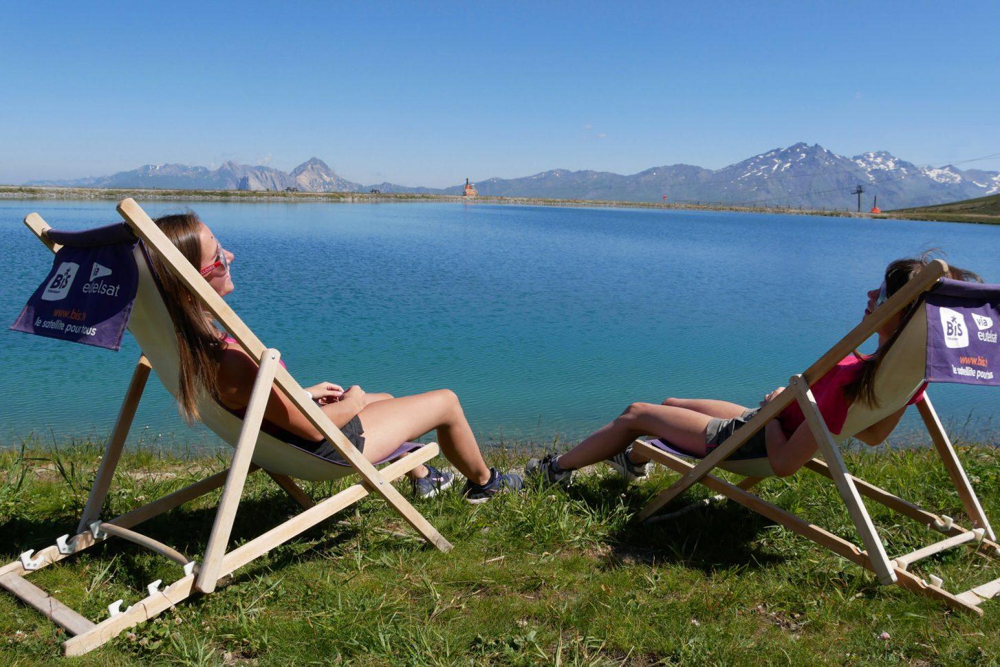 Le lac de la Vieille - Massif du Crey du Quart