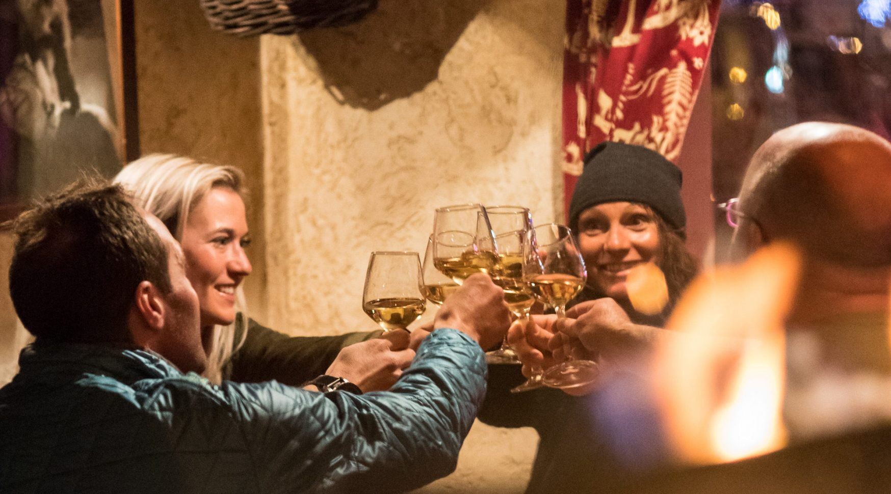 Convivialité des soirées à Valloire