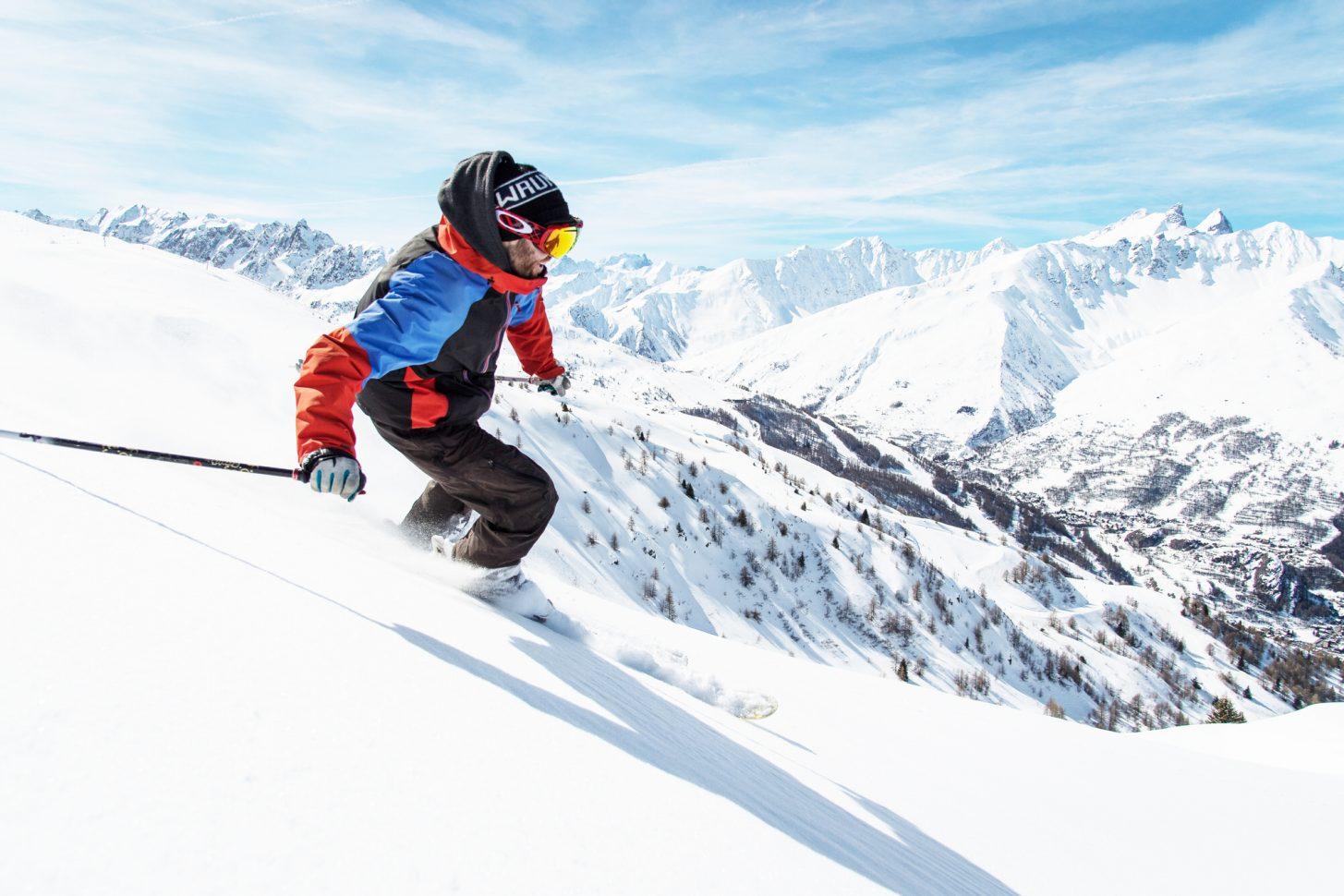Dévalez les pistes du domaine skiable Galibier-Thabor !
