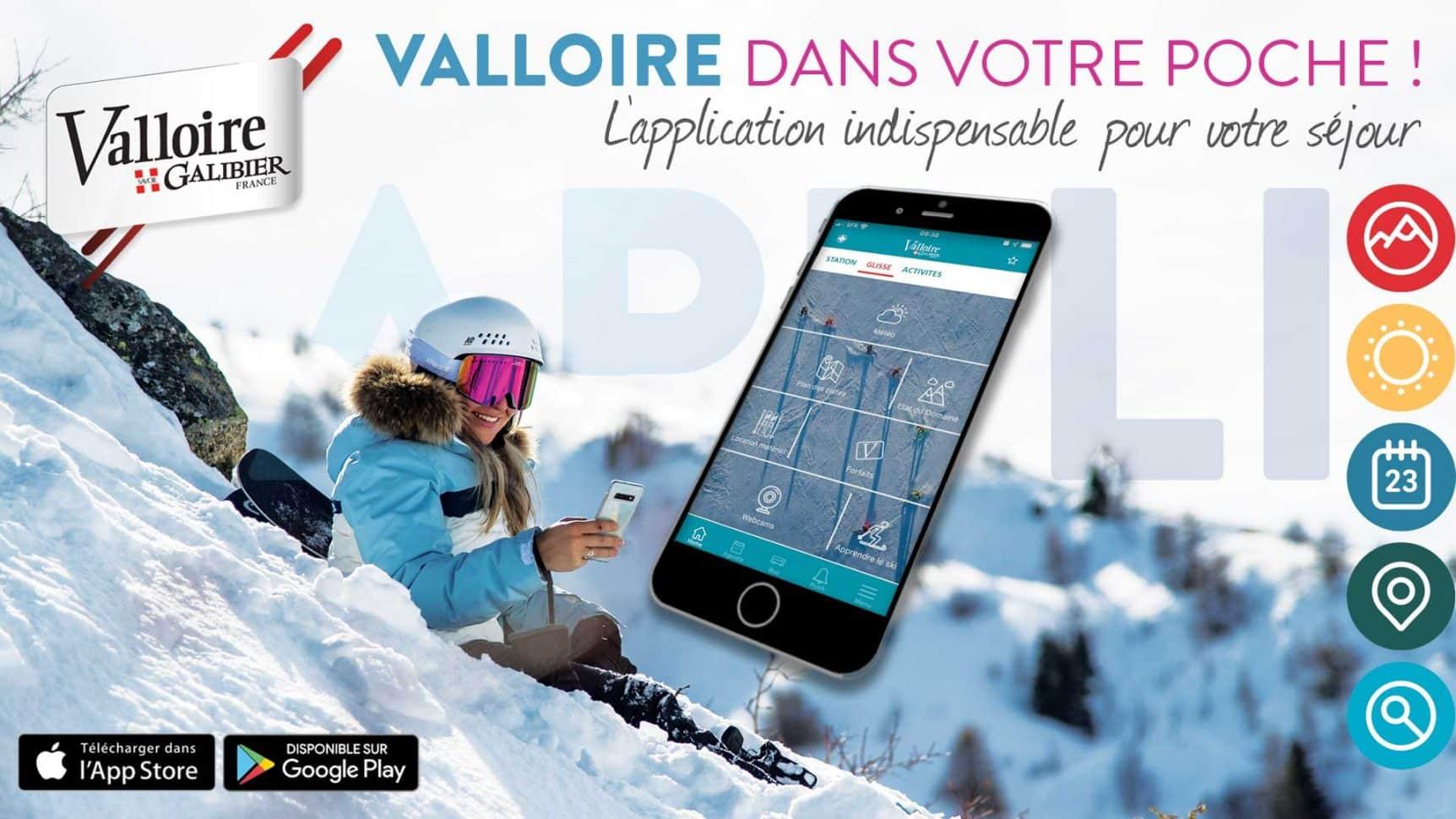 L'appli Valloire - le partenaire digital de vos vacances à Valloire !