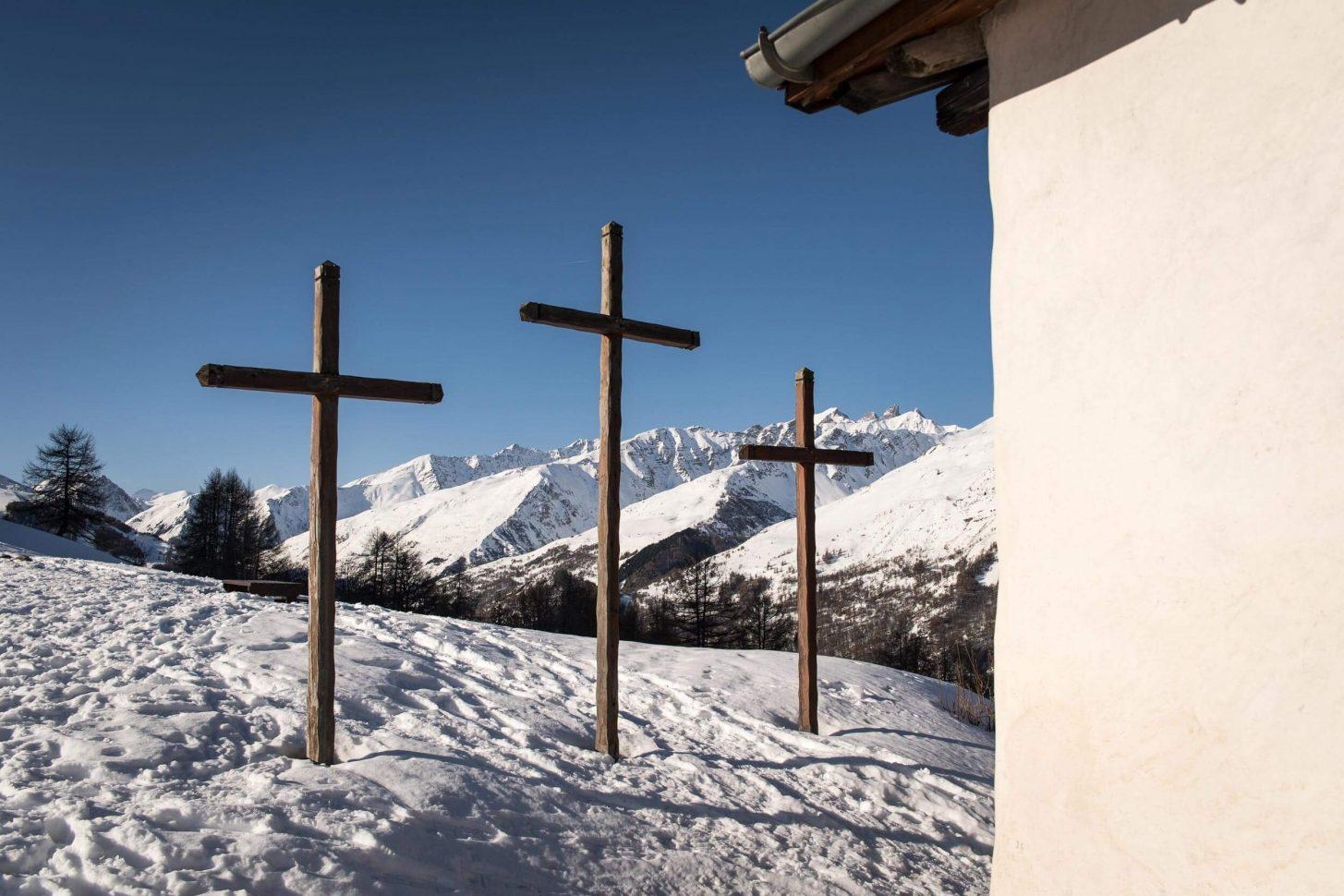 Chapelle des Trois Croix - Patrimoine de Valloire