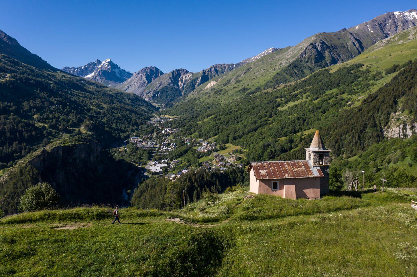 chapelle de la madeleine à Valloire été 2020